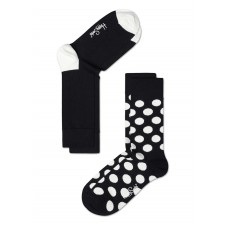 Happy Socks - Big dot black/white (two pack)