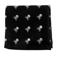 Pochet Skelet - Zwart